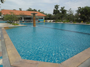 Piscine du View Talay 5