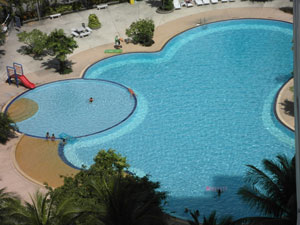 Piscine du View Talay