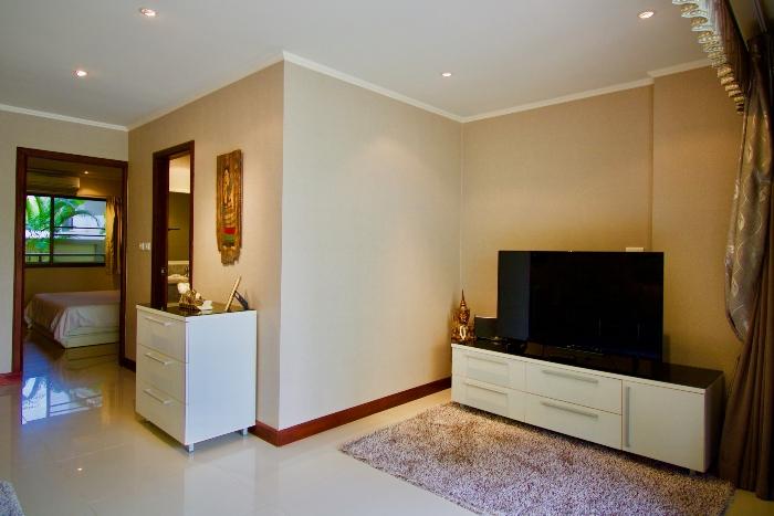 LCD TV im Wohnzimmer