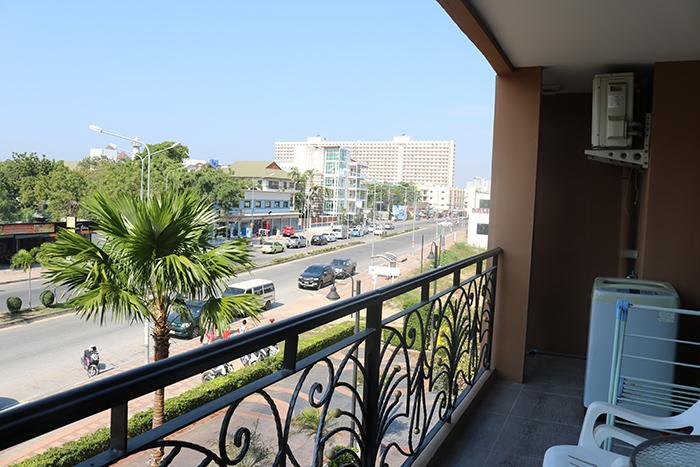 Balcony with Washing Machine