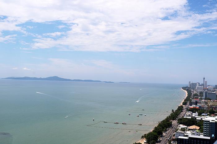 Blick auf die Insel Koh Larn