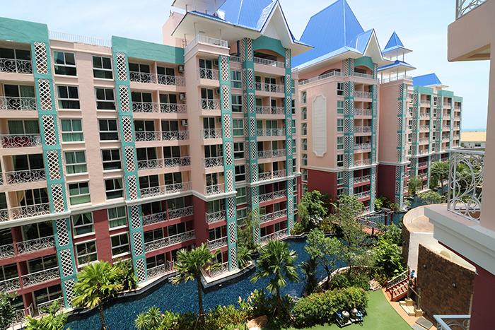 Ausblick von 2 Balkone
