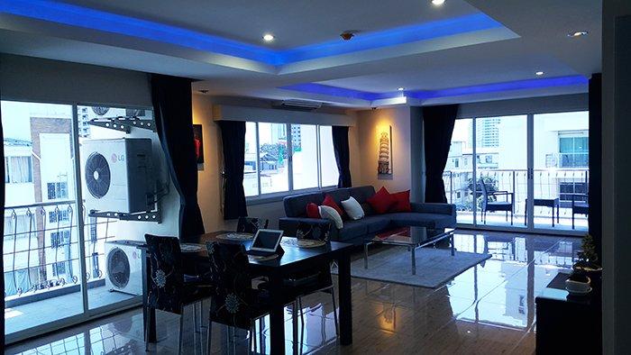 2 Schlafzimmer Luxuswohnung
