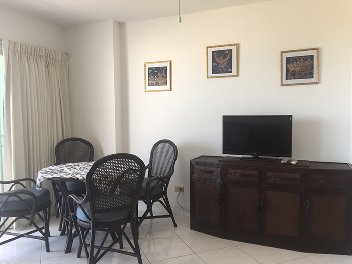 Dining Table & LCD TV