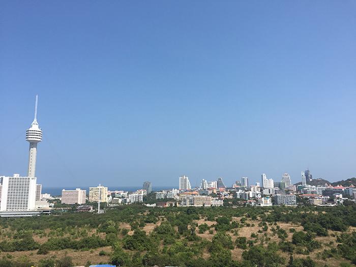 Aussicht auf Pattaya Waterpark