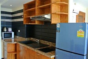 装修完备的厨房