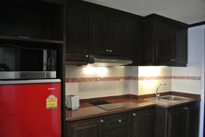 设施完备的厨房