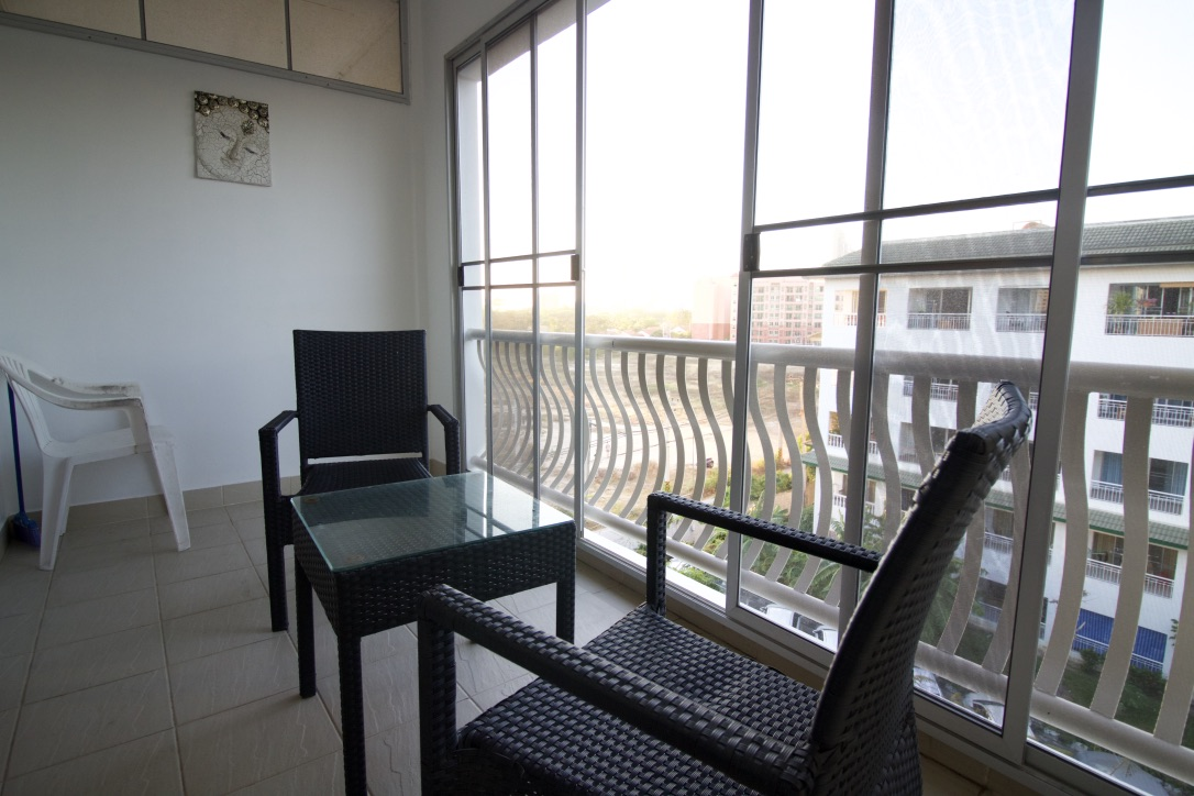 Balcony With Mosquito Screens