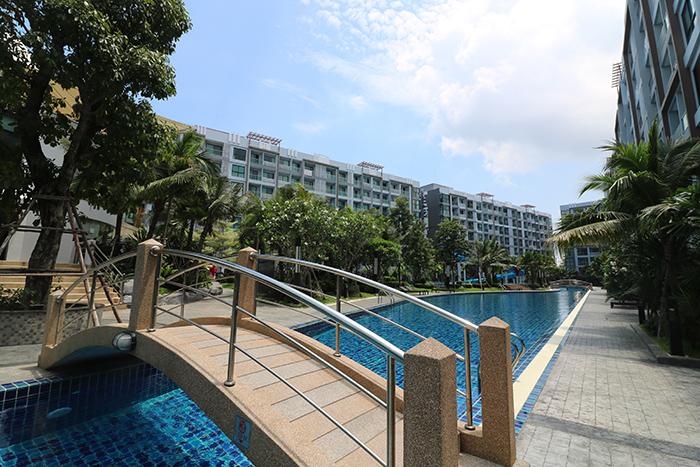 Condominiums Surrounding Pool