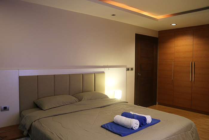 海德公园的卧室