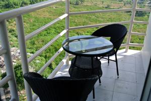 Угловой балкон