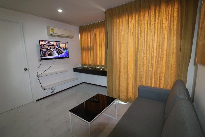 LCD TV in Living Room